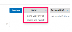 How to send an invoice on PayPal